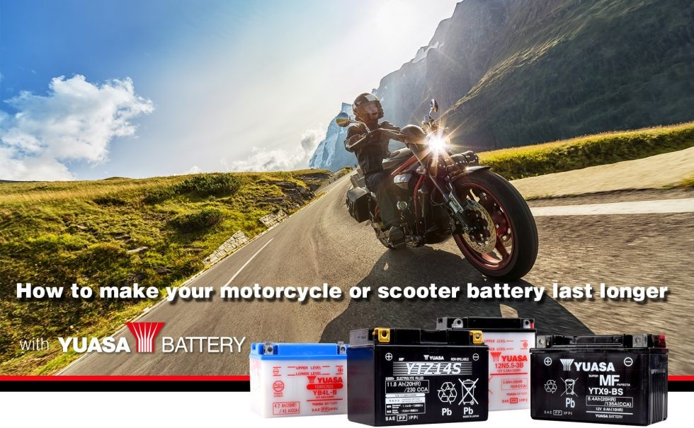 Yuasa batteries are made to last longer and deliver more power