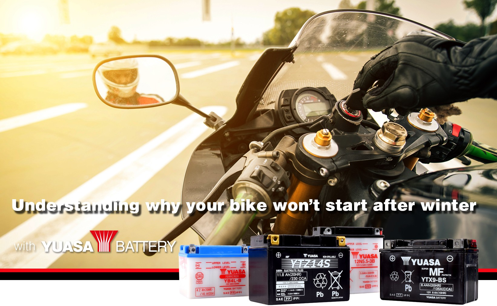 Understanding why your motorcycle won't start after winter