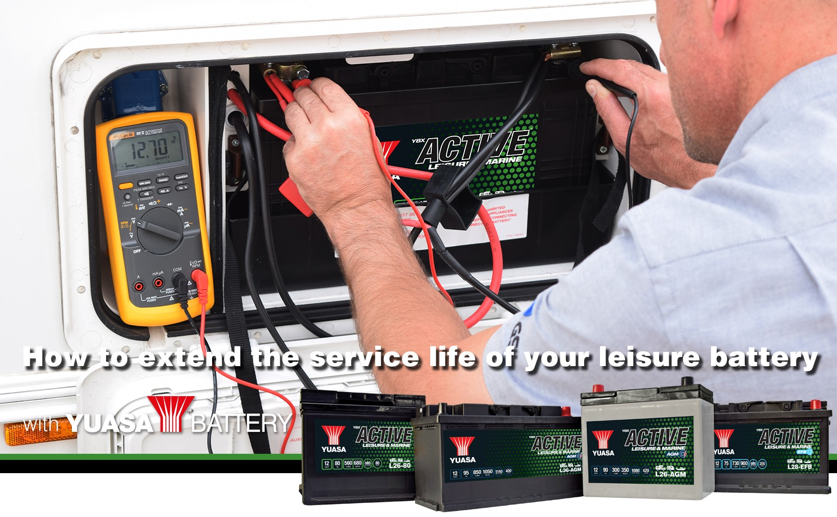 How to extend the service life of your leisure battery
